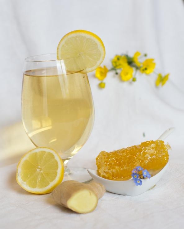 Lemon, Honey Ginger tea