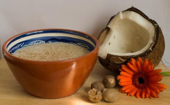 Coconut and nutmeg oatbran