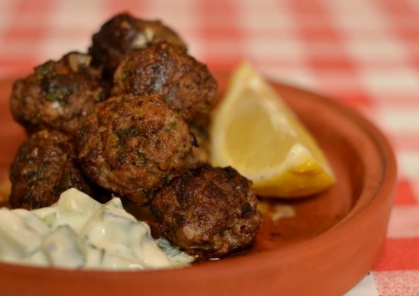 Lamb and Turkey Koftas