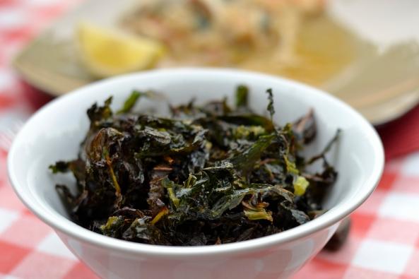 Crispy Garlic Kale