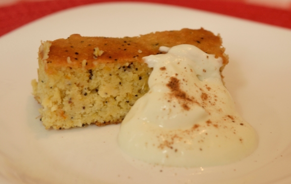 Italian Orange and Almond cake (Gluten and sugar free)